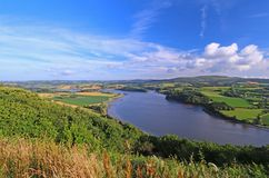 Paisagem em Brittany France Imagem de Stock