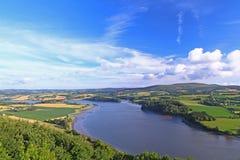 Paisagem em Brittany France Fotos de Stock