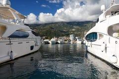 Paisagem em Budva, Montenegro Foto de Stock