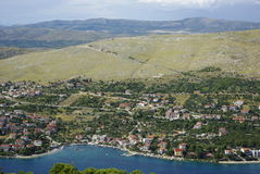 Paisagem em Croatia Fotos de Stock