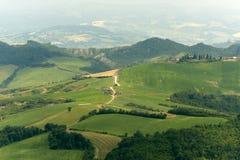 Paisagem em Emilia Romagna Fotos de Stock