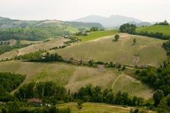 Paisagem em Emilia-Romagna (Italy) Fotografia de Stock