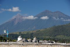 Paisagem em Guatemala Fotos de Stock Royalty Free