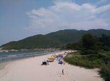 Paisagem em Hong Kong Imagens de Stock Royalty Free