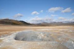 Paisagem em Islândia fotos de stock
