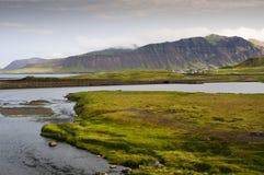 Paisagem em Islândia ocidental Fotos de Stock Royalty Free