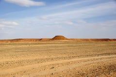 Paisagem em Líbia Fotografia de Stock
