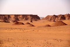 Paisagem em Líbia Fotos de Stock