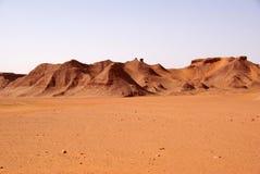 Paisagem em Líbia Fotos de Stock Royalty Free