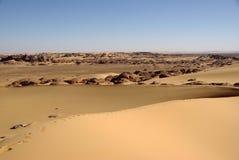Paisagem em Líbia Foto de Stock