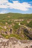 Paisagem em Meteora Foto de Stock Royalty Free