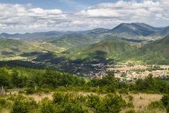 Paisagem em Midi-Pyrenees (França) Foto de Stock