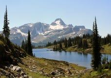 Paisagem em montanhas de Monashee, BC, Canadá fotografia de stock