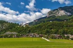 Paisagem em montanhas dos cumes, Áustria Imagem de Stock Royalty Free