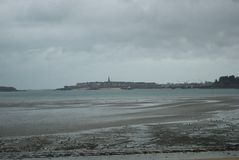 Paisagem em Normandy Foto de Stock Royalty Free