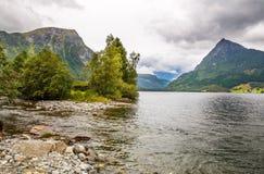 Paisagem em Noruega Imagem de Stock Royalty Free