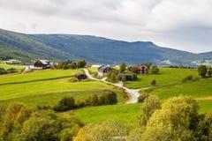 Paisagem em Noruega Foto de Stock