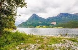 Paisagem em Noruega Fotografia de Stock