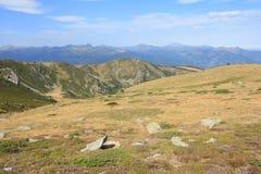 Paisagem em orientales de Pyrenees Imagens de Stock Royalty Free