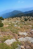 Paisagem em orientales de Pyrenees Fotos de Stock Royalty Free