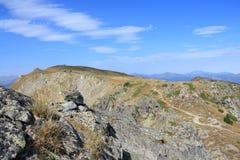 Paisagem em orientales de Pyrenees Fotografia de Stock Royalty Free