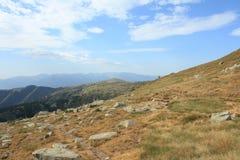 Paisagem em orientales de Pyrenees Fotografia de Stock