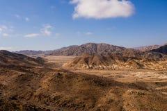 Paisagem em Pan de Azucar National Park no deserto de Atacama no Chile imagens de stock