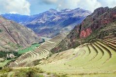 Paisagem em Peru fotografia de stock