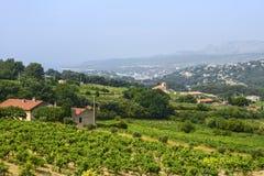 Paisagem em Provence Imagens de Stock Royalty Free