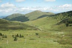 Paisagem em Pyrenees Foto de Stock