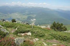 Paisagem em Pyrenees Imagens de Stock Royalty Free