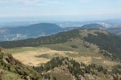 Paisagem em Pyrenees Imagem de Stock