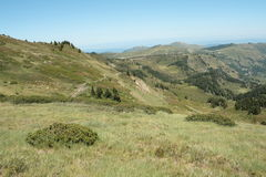Paisagem em Pyrenees Foto de Stock Royalty Free