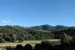 Paisagem em Pyrenees Fotos de Stock Royalty Free