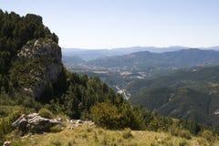 Paisagem em Pyrenees, Espanha Imagem de Stock