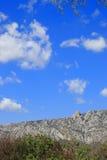 Paisagem em Pyrenees Orientales, França Imagens de Stock Royalty Free