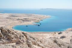 Paisagem em Ras Mohammed National Park imagem de stock