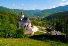 Paisagem em Romania fotografia de stock