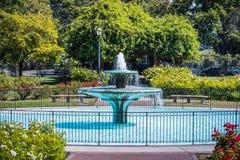 Paisagem em Rose Garden municipal, San Jose, Califórnia foto de stock