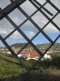 Paisagem em Santa Cruz da Graciosa, Açores, Portugal Foto de Stock Royalty Free