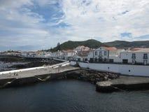 Paisagem em Santa Cruz da Graciosa, Açores, Portugal Fotografia de Stock Royalty Free