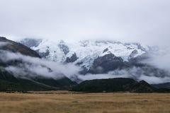 Paisagem em torno do Mt Parque nacional do cozinheiro/Aoraki, Nova Zelândia Imagens de Stock