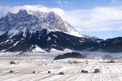 Paisagem em torno do Zugspitze Imagens de Stock Royalty Free