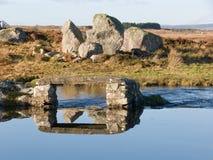 Paisagem em um lago em Ireland Fotos de Stock Royalty Free