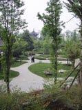 A paisagem em um parque, chengdu, porcelana Foto de Stock Royalty Free
