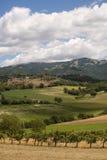 Paisagem entre Lazio e Úmbria Fotos de Stock Royalty Free
