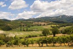 Paisagem entre Lazio e Úmbria (Italy) Foto de Stock