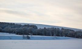 Paisagem escocesa do inverno imagem de stock royalty free