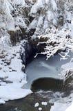 Paisagem escocesa do inverno fotos de stock