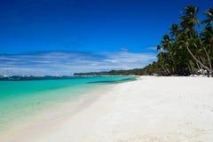 Paisagem exótica perfeita da praia Fotografia de Stock Royalty Free